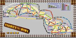 Cuba (fan expansion of Ticket to Ride)