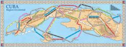 Cuba: Region Occidental (fan expansion for Ticket to Ride)