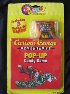 Curious George Adventures Pop-Up Candy Game