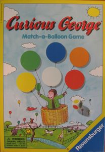 Curious George Match-a-Balloon Game