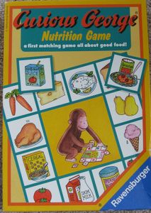 Curious George Nutrition Game