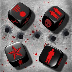 D-Day Dice: MGF Dice
