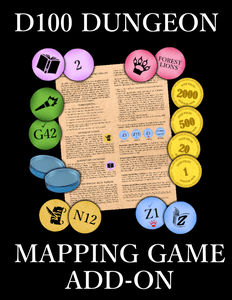 D100 Dungeon: Mapping Game – Add-On