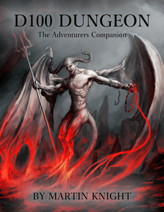 D100 Dungeon: The Adventurers Companion