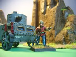 Damned Hot Work: The Steampunk Miniatures Game