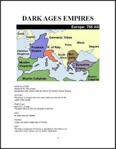Dark Ages Empires