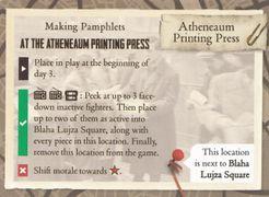 Days of Ire: Budapest 1956 – Printing Press Promo Card
