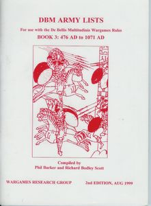 DBM Army Lists Book 3: 476 AD to 1071 AD
