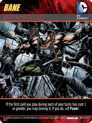 DC Comics Deck-Building Game: Forever Evil – Bane Super Villain