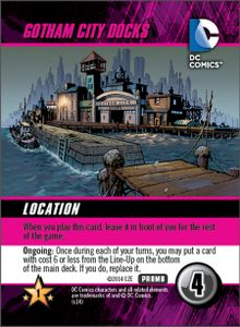 DC Comics Deck-Building Game: Gotham City Docks Promo