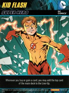 DC Comics Deck-Building Game: Kid Flash