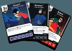 DC Comics Dice Masters: Batman the Animated Series Promo Cards