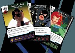 DC Comics Dice Masters: Batman the Animated Series Sirens Promo Cards