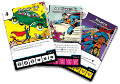 DC Comics Dice Masters: Golden Age Superman Promo Cards