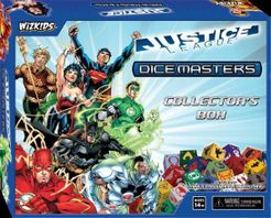 DC Comics Dice Masters: Justice League – Collector's Box