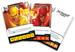 DC Comics Dice Masters: Speedsters Promo Cards