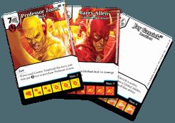 DC Comics Dice Masters: Speedsters Promo Cards