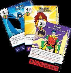 DC Comics Dice Masters: Teen Titans Promo Cards