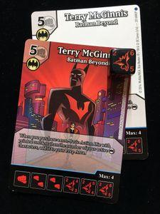 DC Comics Dice Masters: Terry McGinnis Promo Cards