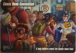 DC Spyfall: Comic Book Convention promo cards