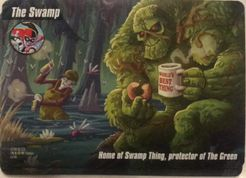 DC Spyfall: Swamp Thing Location Card Promo Cards
