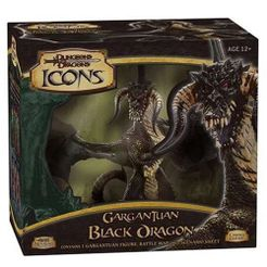 D&D Icons: Gargantuan Black Dragon