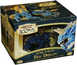 D&D Icons: Gargantuan  Blue Dragon