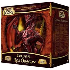 D&D Miniatures Icons: Colossal Red Dragon