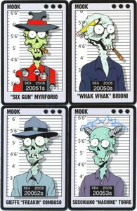 Dead Fellas: The Original Four Promo Cards
