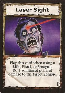 Dead Panic: Laser Sight Promo Card