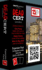 DEADCERT: London – Expansion Pack F
