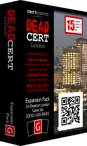 DEADCERT: London – Expansion Pack G