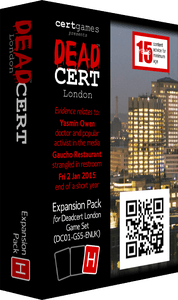 DEADCERT: London – Expansion Pack H
