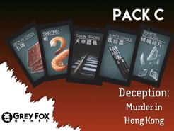 Deception: Murder in Hong Kong – Dice Tower 2017 Indiegogo Promo Pack