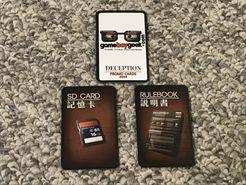 Deception: Murder in Hong Kong – Game Boy Geek Season 6 Kickstarter Promo Cards
