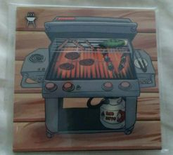 Deck Building: The Deck Building Game – The Barbecue Grill Promo