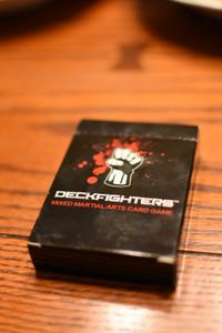 Deckfighters: Mixed Martial Arts Card Game