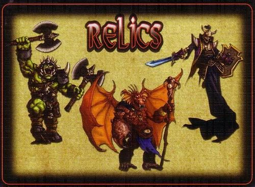 Defenders of the Realm: Relics