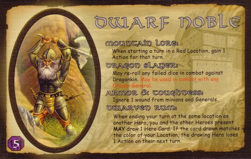 Defenders of the Realm: The Noble Dwarf