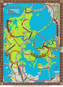 Denmark (fan expansion of Ticket to Ride)