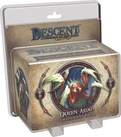 Descent: Journeys in the Dark (Second Edition) – Queen Ariad Lieutenant Pack