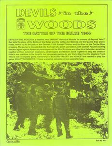 Devils in the Woods: The Battle of the Bulge 1944