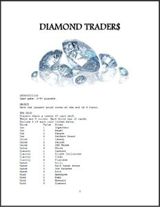 Diamond Traders