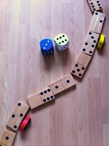 Dice and Dominoes Racing