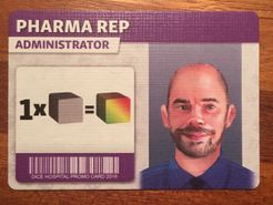 Dice Hospital: Pharma Rep Administrator Promo Card