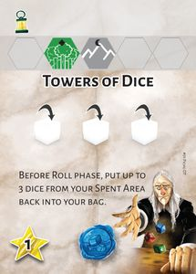 Dice Settlers: Dice Tower Promo Card