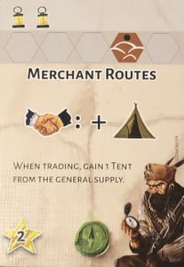 Dice Settlers: Merchant Routes Promo Card
