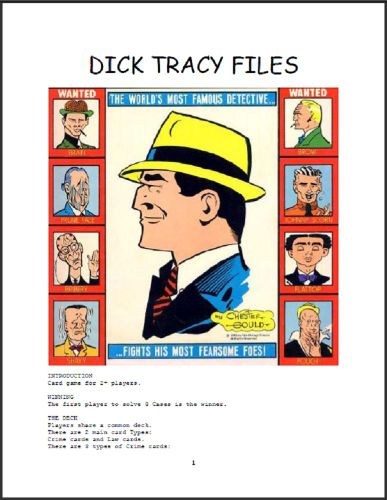 Dick Tracy Files