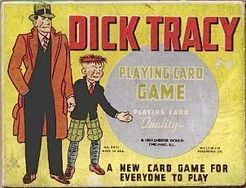 Dick Tracy Playing Card Game