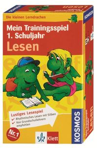 Die kleinen Lerndrachen: Mein Trainingsspiel 1. Schuljahr – Lesen